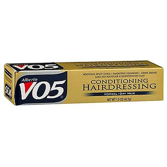 Alberto vo5 conditioning hairdressing for normal/dry hair, 1.5 oz
