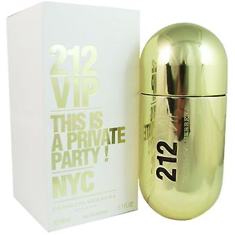 212 vip for kvinder ved carolina herrera 1,7 oz eau de parfum spray