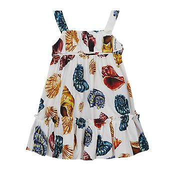 Dolce & Gabbana Dress With Shells Print