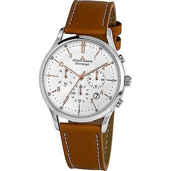 Jacques Lemans - Wristwatch - Men - Retro Classic - - 1-2068P