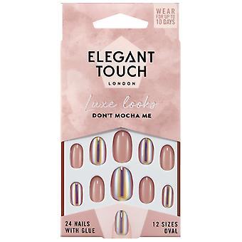 Elegant Touch Luxe ser falske negle Collection - Dont Mokka Me (24 negle med lim)