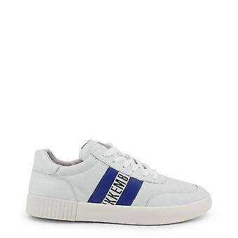 Man leather sneakers shoes b04727