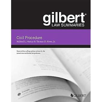 Gilbert Law Summary on Civil Procedure by Richard Marcus - 9781683281