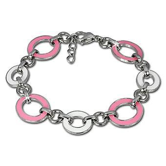 Amello - Women's bracelet - stainless steel and enamel - 180 mm - cod. VESAG01P