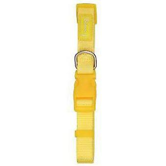 Freedog Nylon collar 10mm yellow (Dogs , Collars, Leads and Harnesses , Collars)