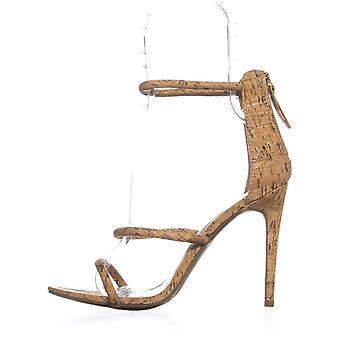 Bebe Womens Berdine open teen formele enkel riem sandalen