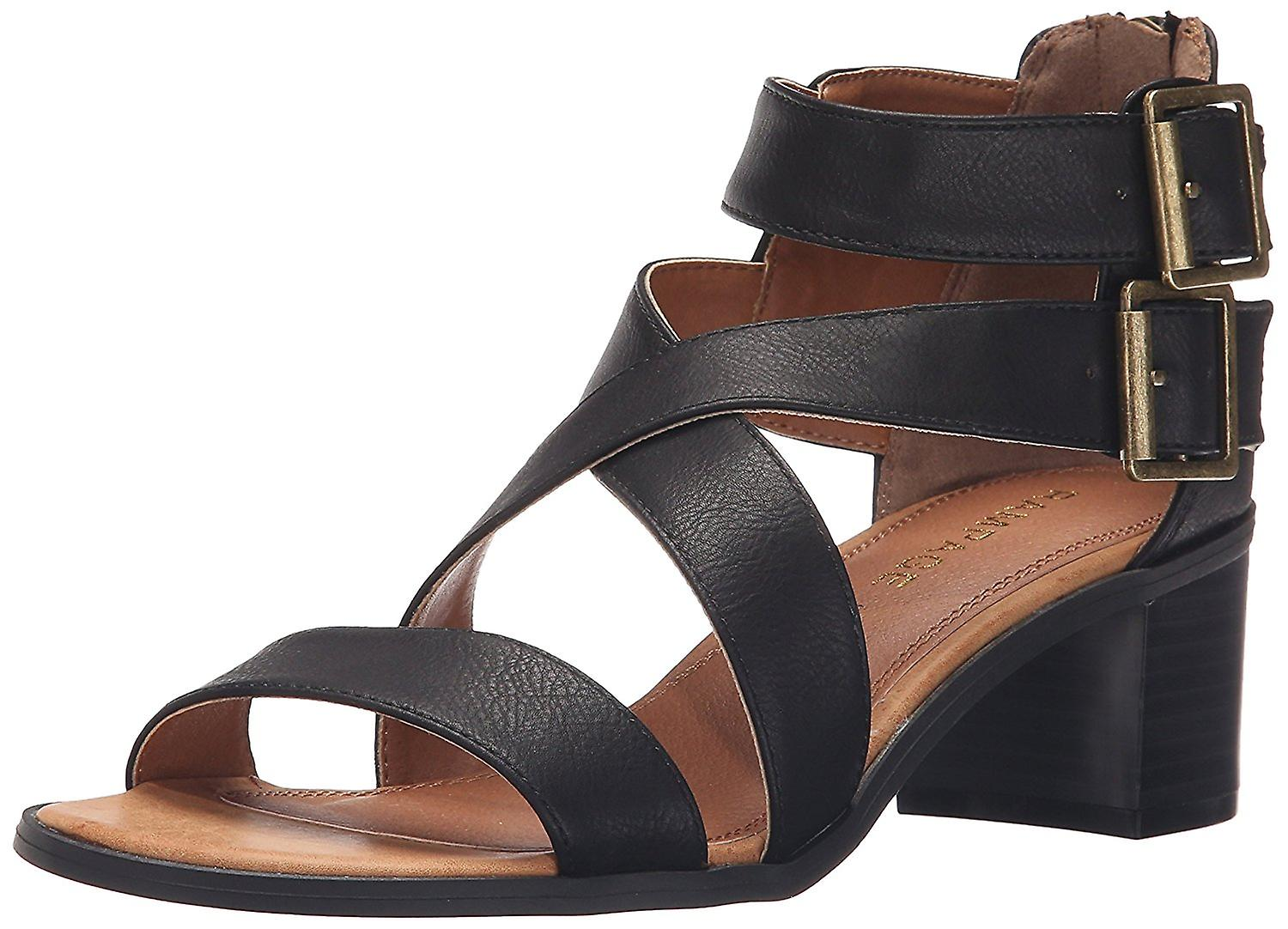 Rampage Womens Havarti Open Toe Casual Ankle Strap Sandals Q7jb0