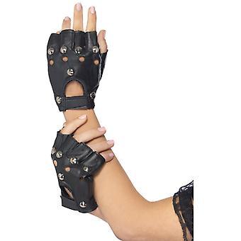 Rocker Handschuhe Punk 80er Jahre Metal Punker