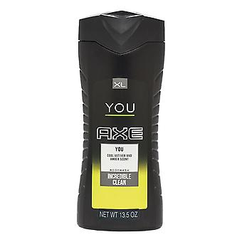 Axe - You Incredible Clean Body Wash SHOWER GEL Cool Vetiver & Amber Scent - 400ML