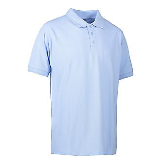 ID Mens Pro Wear Short Sleeve Regular Fitting Polo Shirt
