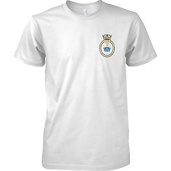 HMS Invincible - désarmé en Royal Navy Ship T-Shirt couleur