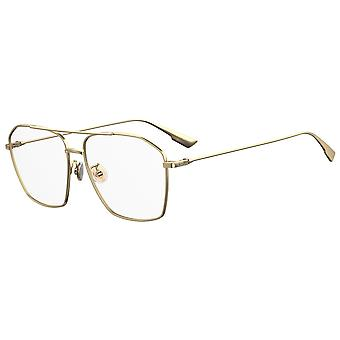 Dior STELLAIRE O14F ASIAN FIT J5G Gold Glasses