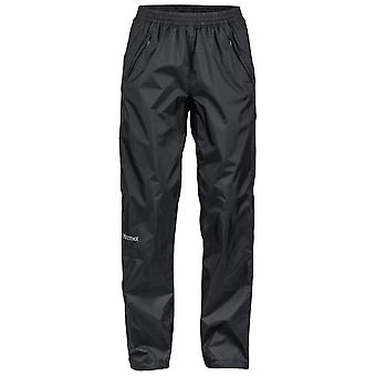 Marmot Black Womens PreCip Eco Full Zip Pant