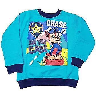 Paw patrull jaga pojkar tröja tröja pullover jumper blå