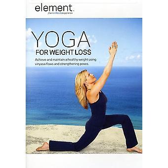 Yoga för viktminskning [DVD] USA import