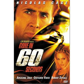 Gone in 60 Seconds [DVD] USA import