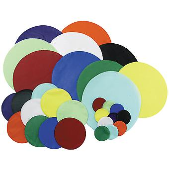 1440 Assorted Colour and Size Tissue Paper Circles Pack