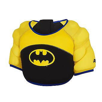 Zoggs Batman Water Wings Infant Kids Swimming Holiday Summer Vest Black/Yellow