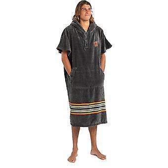 Slowtide Ranger Poncho S/M Hooded Towel in  Grey