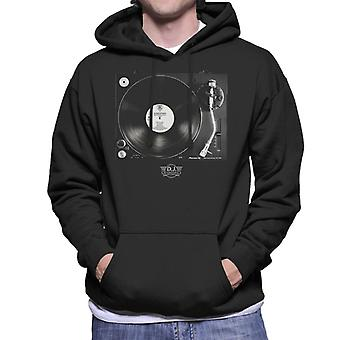 DJ International Records Turntable Men's Hooded Sweatshirt