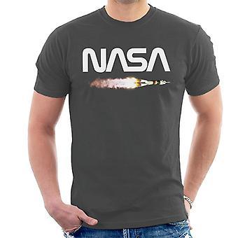 T-shirt NASA lancio Soyuz Logo uomo