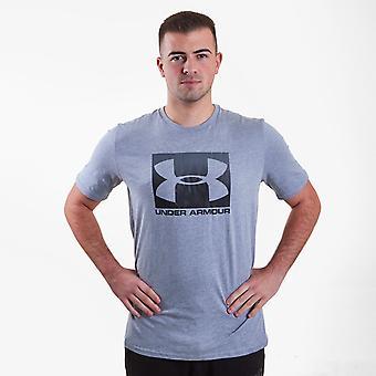 Bajo armadura boxeada estilo deportivo camiseta hombres