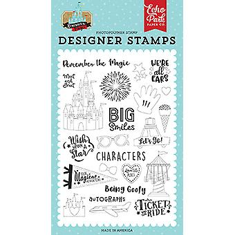 Echo Park Big Smiles Clear Stamps