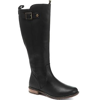 Barbour Womens Rebecca Leather Knee High Boot