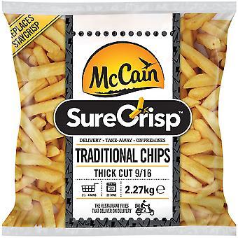 McCain SureCrisp Traditional Thick Cut Chips 9/16