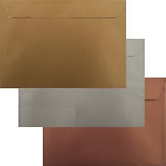 Awards Pack 75 guld sølv Bronze C5 skræl/Seal luksus konvolutter