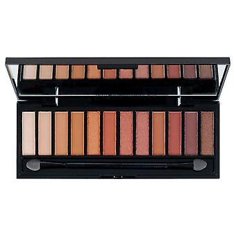 Eye Candy Hot Collection 12 Colour Eye Shadow Palette - Highly Pigmented