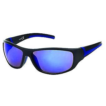 Gafas de sol Hombre Rectangular Azul/Negro/Azul 20-260