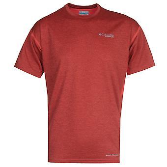 Columbia Rot Irico Rundhals T-Shirt