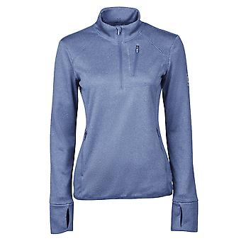 Dublin Nicola Womens 1/4 Zip Thermal Midlayer - Blue Indigo