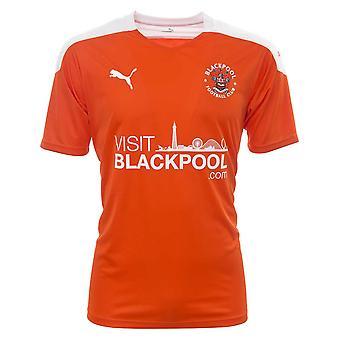 2020-2021 ブラックプールホームフットボールシャツ