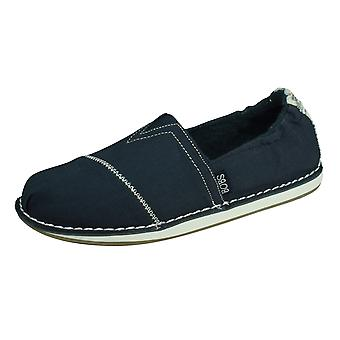 Skechers BOBS Chill Waterfront Womens Slip On Schuhe - Navy