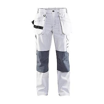 Blaklader 7131 painters trousers white - womens (71311210)