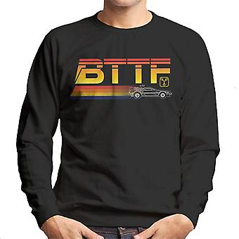 Back to the Future Delorean Zooming Men's Sweatshirt