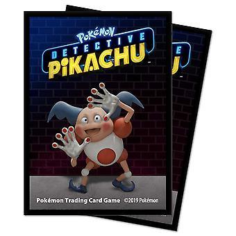 Pikachu Detective Pikachu- Mr. Mime Deck Protector Mouwen 65ct