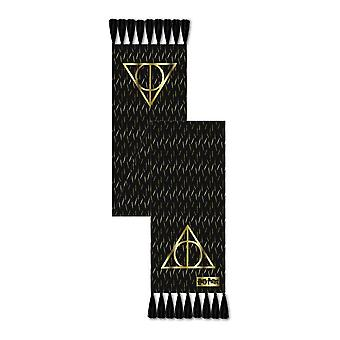 Harry Potter Hallows Scarf Unisex Nero (LF-HPTR-024B)
