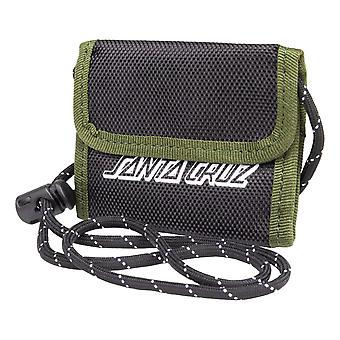 Santa Cruz Force Wallet - Black / Olive