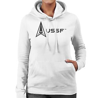 U.S. Space Force Light Logo USSF Women's Hooded Sweatshirt