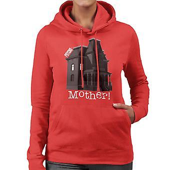 Psycho Norman Bates Home Mother Women's Hooded Sweatshirt