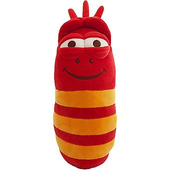 LARVA Red Stuffed Toy With Sound Stuffed Plysch Red 30cm