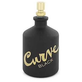 Käyrä musta Kirjoittanut Liz Claiborne Eau De Toilette Spray (testaaja) 4.2 Oz (miehet) V728-547964
