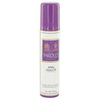 April Violets By Yardley London Body Spray 2.6 Oz (women) V728-483232