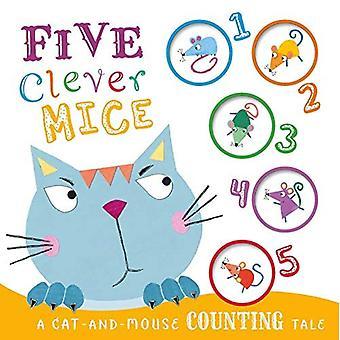 Five Clever Mice [Board book]
