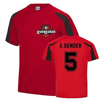 Sven Bender Leverkusen Urheiluharjoittelu jersey (punainen)