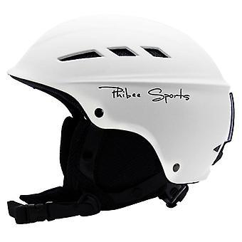 Casque sport avec ventilation d'air, bracelet Villus confortable et bande de lunettes de ski