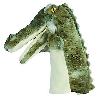 Het marionetbedrijf - tapijten - krokodilhandpop